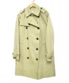 ACROSS THE VINTAGE(アクロスザヴィンテージ)の古着「トレンチコート」|カーキ