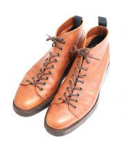 NEPCO FOOTWEAR(ネプコフットウェア)の古着「9EYEモンキーブーツ」|ブラウン