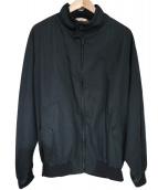 BARACUTA(バラクータ)の古着「ハリントンジャケット」|ブラック