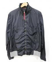 PRADA(プラダ)の古着「スイングトップ」|ブラック