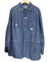 POST OALLS(ポストオーバーオールズ)の古着「カバーオール」|インディゴ