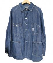 POST OALLS(ポストオーバーオールズ)の古着「カバーオール」 インディゴ