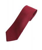 HERMES(エルメス/スカーフ)の古着「ネクタイ」|レッド