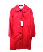 CHILD WOMAN(チャイルドウーマン)の古着「スプリングコート」 ショッキングピンク