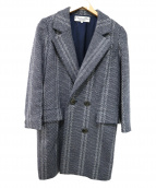 Christian Dior(クリスチャン ディオール)の古着「ラメ混ロングコート」