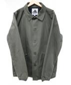 X-LARGE(エクストララージ)の古着「バックデザインカバーオール」|オリーブ