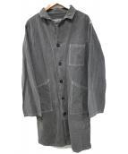 AUTREFOIS(オートレフォア)の古着「ショップコート」|グレー