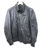 AMERICAN RAG CIE(アメリカンラグシー)の古着「シングルライダースジャケット」|ブラック