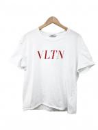 VALENTINO(ヴァレンティノ)の古着「VLTN Tシャツ」|ホワイト