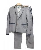 FACTOTUM(ファクトタム)の古着「ポストマンセットアップ」|グレー