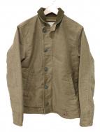 DENIM & SUPPLY RALPH LAUREN(デニム&サプライ ラルフローレン)の古着「ペイント加工ワークジャケット」