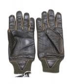 TOYS McCOY(トイズ マッコイ)の古着「レザー手袋」|ブラウン