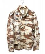 STUSSY(ステューシー)の古着「ミリタリージャケット」|ブラウン