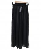 MM6(エムエムシックス)の古着「ドットシフォンスカート」