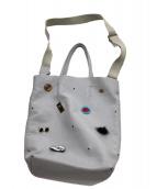 Bagolo(バゴロ)の古着「レザートートバッグ」|グレー