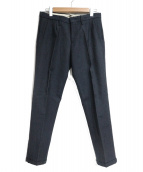 INCOTEX(インコテックス)の古着「ウールパンツ」|ネイビー