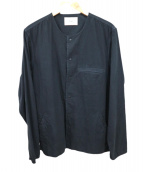 Folk(フォルク)の古着「スナップボタンジャケット」|ブラック