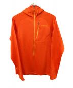 Patagonia(パタゴニア)の古着「ジップパーカー」 オレンジ