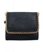 STELLA McCARTNEY(ステラ マッカートニー)の古着「2つ折り財布」|ブラック