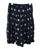 45R(45アール)の古着「刺繍スカート」