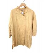 MaxMara(マックスマーラ)の古着「オーバーサイズリネンジャケット」|オレンジ