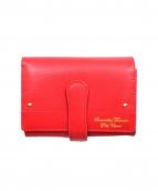 Samantha Thavasa PETIT CHOICE(サマンサタバサプチチョイス)の古着「2つ折り財布」|レッド