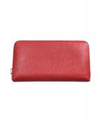 BVLGARI(ブルガリ)の古着「長財布」|レッド