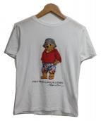 POLO RALPH LAUREN(ポロラルフローレン)の古着「ポロベアTシャツ」|ホワイト