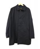 MACKINTOSH(マッキントッシュ)の古着「ステンカラーコート」|ブラック