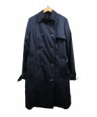 LAUTRE AMONT(ロートレアモン)の古着「ダウン10ライナー付トレンチコート」|ネイビー