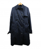 LAUTRE AMONT(ロートレアモン)の古着「ダウン10ライナー付トレンチコート」 ネイビー