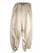 BEAMS BOY(ビームスボーイ)の古着「US ARMYオーバーパンツ」 ベージュ