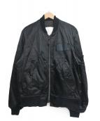 SPIEWAK(スピワック)の古着「MA-1ジャケット」|ブラック