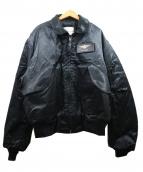 SPIEWAK(スピワック)の古着「ミリタリージャケット」|ブラック