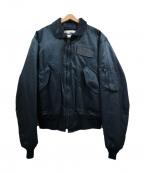 SPIEWAK(スピワック)の古着「フライトジャケット」|ネイビー