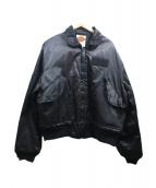 HARLEY-DAVIDSON(ハーレーダビットソン)の古着「MA-1ジャケット」|ブラック