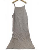 PILGRIM SURF+SUPPLY(ピルグリム サーフ+サプライ)の古着「Smith Wool Linen Dress」|ベージュ