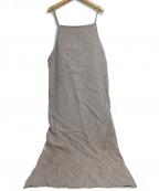 Pilgrim Surf+Supply(ピルグリム サーフ+サプライ)の古着「Smith Wool Linen Dress」 ベージュ