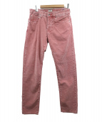 PT05(ピーティーゼロチンクエ)の古着「コーデュロイパンツ」|レッド