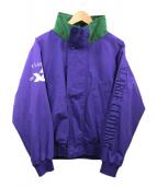 X-LARGE(エクストララージ)の古着「袖刺繍セーリングジャケット」|パープル