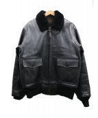 J.A.DUBOW(ジェイエードュボウ)の古着「G-1フライトジャケット」|ブラック
