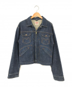 MAVERICK()の古着「デニムジャケット」 ブルー