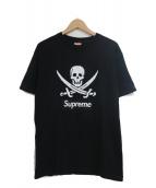 Supreme×NEIGHBORHOOD(シュプリーム×ネイバーフッド)の古着「プリントTシャツ」|ブラック