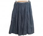 45rpm(45アールピーエム)の古着「コットンミディスカート」|ネイビー