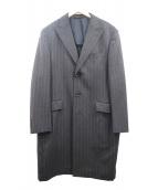LANVIN COLLECTION(ランバンラコレクション)の古着「チェスターコート」|ブラウン