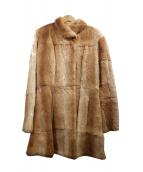 ANNA MOLINARI(アンナモリナーリ)の古着「ファーコート」|ブラウン