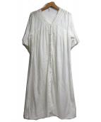 nest Robe(ネストローブ)の古着「ブラウスワンピース」|ホワイト
