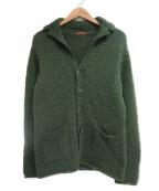 BARENA(バレナ)の古着「ニットジャケット」|オリーブ