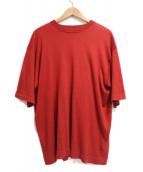 crepuscule(クレプスキュール)の古着「半袖ニット」|レッド