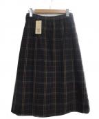 COMME CA(コムサ)の古着「2WAY ストレッチ スカート」 ブラック
